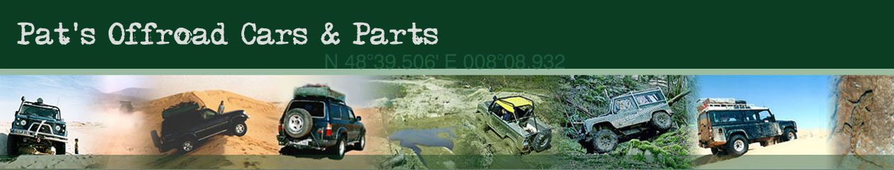 Pat's Offroad Cars & Parts